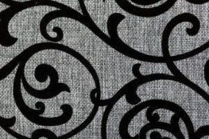 Ткань № 13. Флок на рогожке MS-25-1