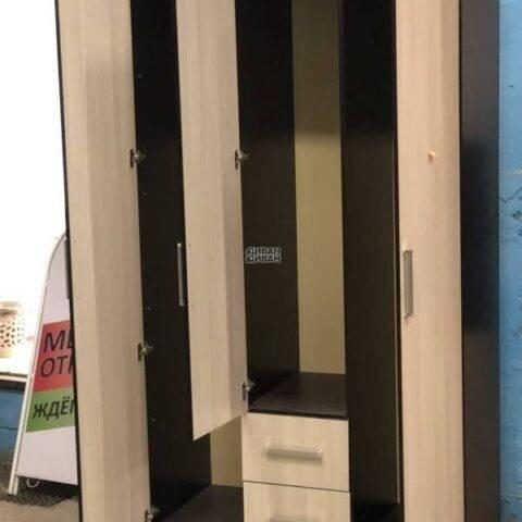 """Шкаф трехстворчатый """"Фиеста"""" (выставка) в интернет-магазине Диван-Диван"""