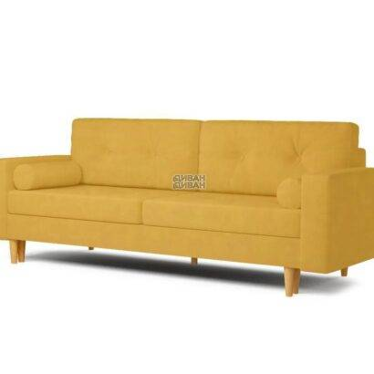 Диван Динс жёлтый