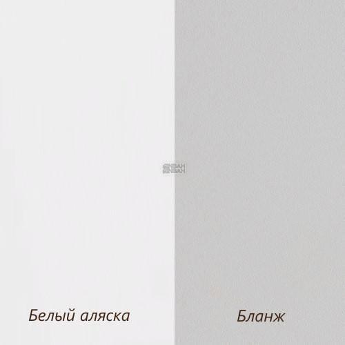 цвет белый аляска/бланж