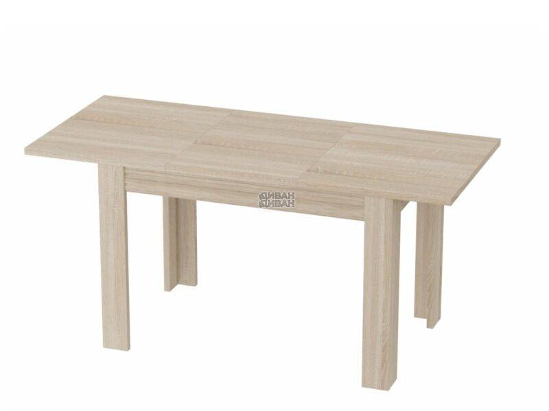 стол элана раздвижной дуб сонома 1
