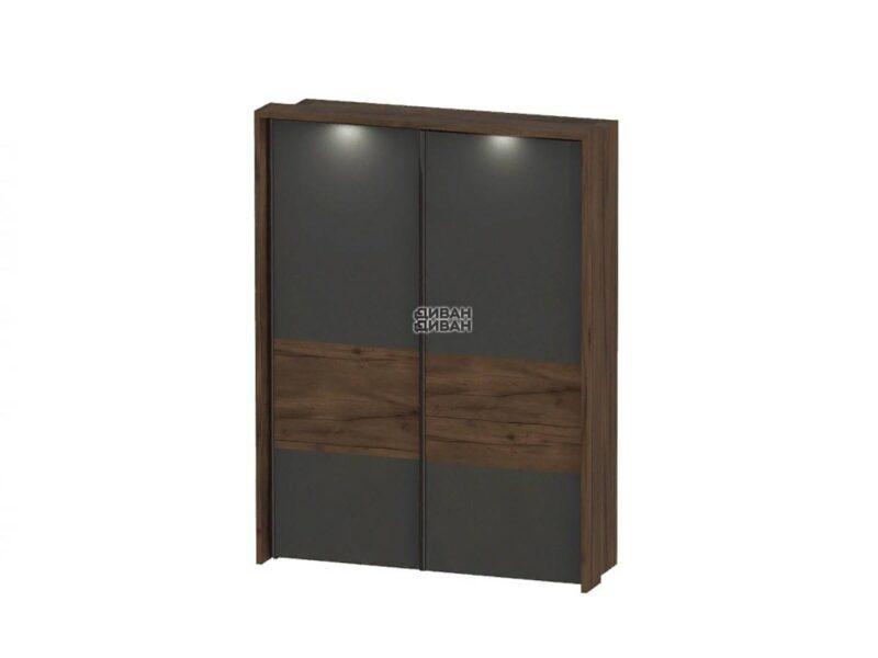 Глазго спальня Обрамление шкафа с раздвижными дверями 2 дв