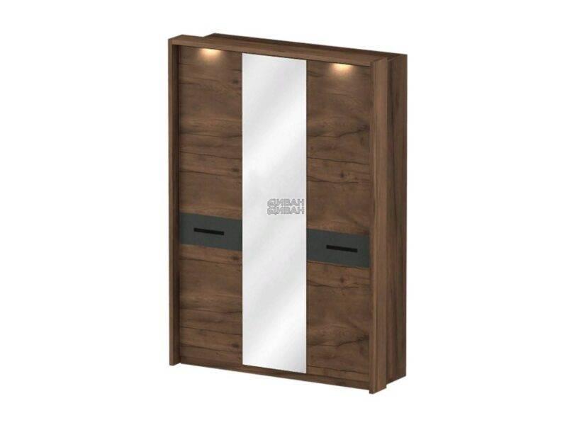 Глазго спальня Обрамление шкафа 3 дв