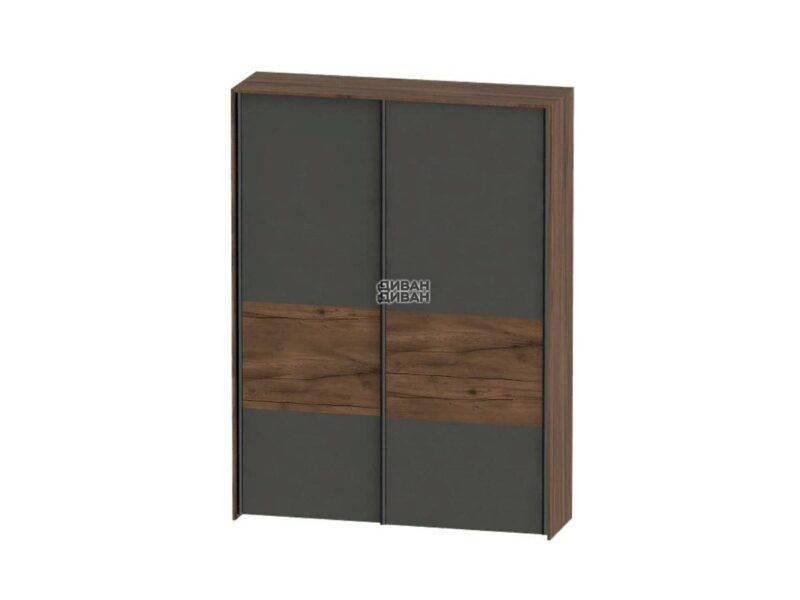 Глазго спальня Шкаф с раздвижными дверями 2 двери