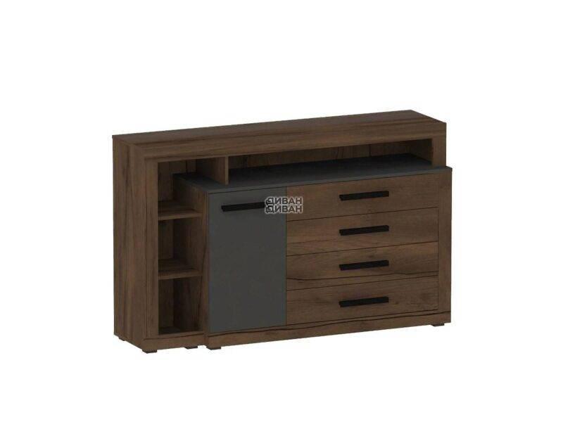 Глазго спальня Тумба с дверцей и 4 ящиками