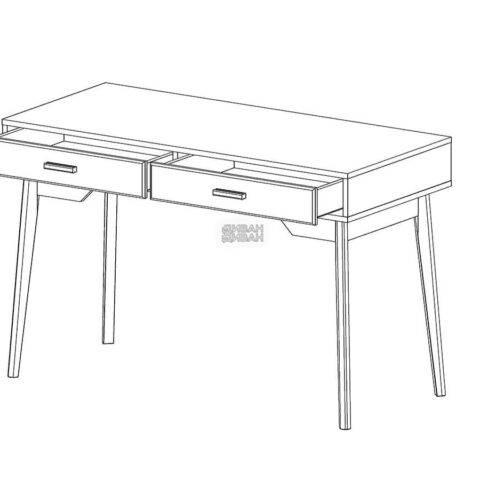 калгари письменный стол мбг схема