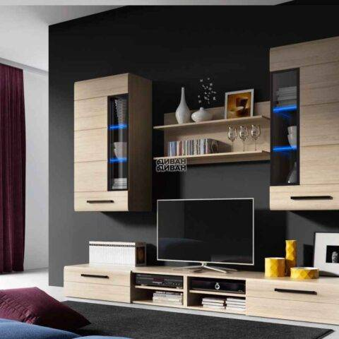 комплект мебели кёльн Дуб Сонома 1