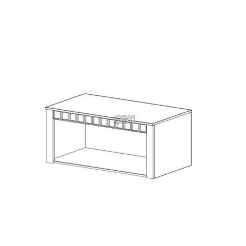 Прованс спальня антресоль 2-дверная схема