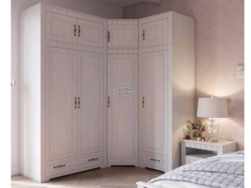 Прованс спальня шкаф угловой комплект