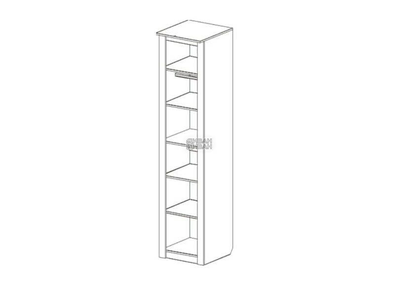Шкаф однодверный Элана мбг схема