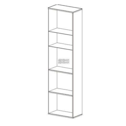 Шкаф-витрина Кёльн 1960 схема