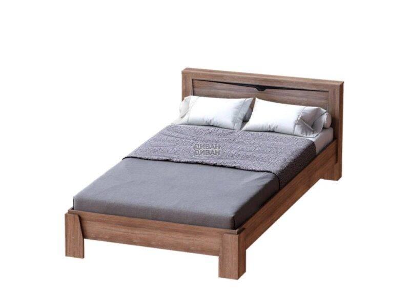 соренто кровать 1400 Дуб бонифаций