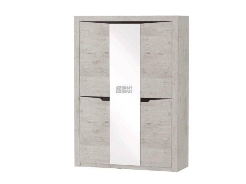 соренто шкаф мбг 3-х дверный Дуб бонифаций