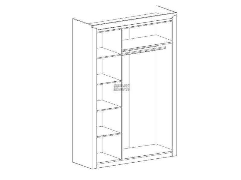 схема 3 дв. шкаф мбг соренто