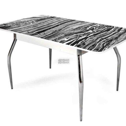 стол обеденный раздвижной абстракция 1