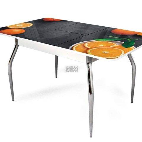 стол обеденный раздвижной апельсин