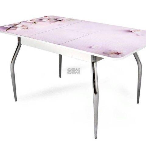 стол обеденный раздвижной цветы 1