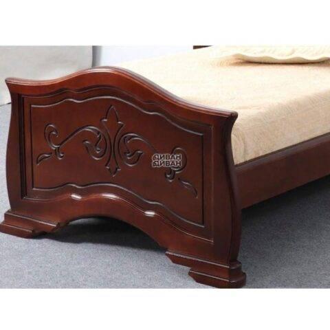 кровать людмила 14 орех с патиной-2