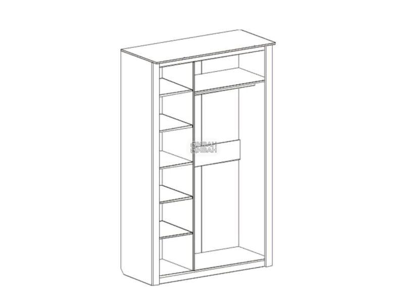 шкаф 3-х дверный Элана схема